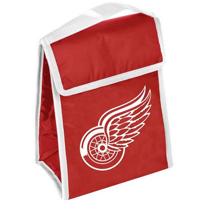 Detroit Red Wings Official NHL Big Logo Velcro Lunch Bag