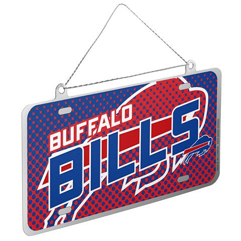 Buffalo Bills Official NFL 2015 Metal License Plate Ornament