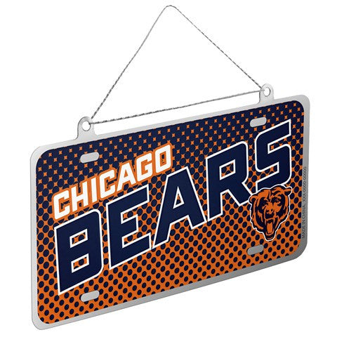 Chicago Bears Official NFL 2015 Metal License Plate Ornament