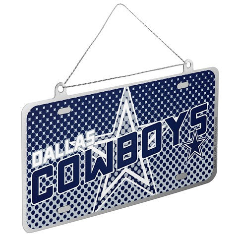 Dallas Cowboys Official NFL 2015 Metal License Plate Ornament