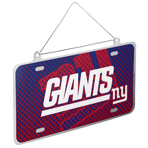 New York Giants Official NFL 2015 Metal License Plate Ornament