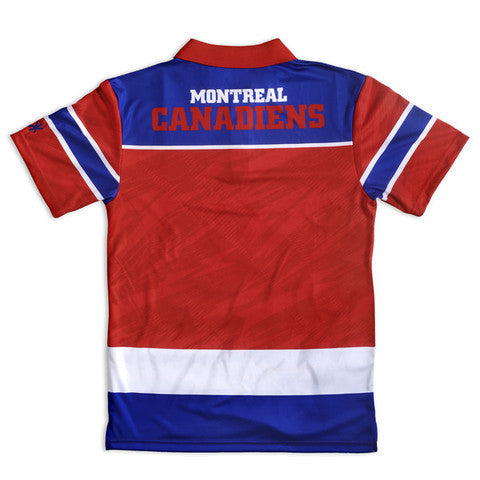 Montreal Canadiens Official NHL Thematic Polyester Polo Shirt