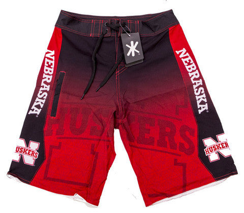 Nebraska Huskers Official NCAA Board Shorts