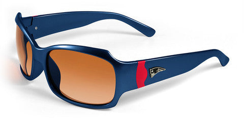New England Patriots Women's NFL Bombshell Sunglasses and Free Micro Fiber Case