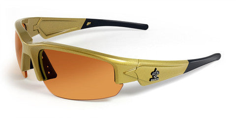 New Orleans Saints Men's NFL Sunglasses and Free Micro Fiber Matching Case