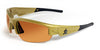 New Orleans Saints Men's Official NFL Sunglasses and Free Micro Fiber Matching Case
