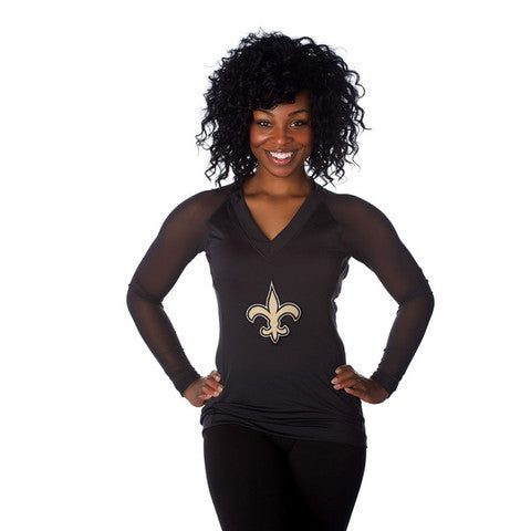 "New Orleans Saints Women's Official NFL ""Wildkat"" Top"