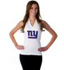 "New York Giants Women's Official NFL ""Blown Coverage"" White Halter"