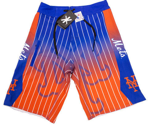 New York Mets Official MLB Board Shorts