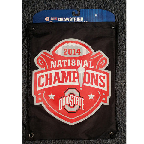 Ohio State Buckeyes Official NCAA National Champions Draw String Bag