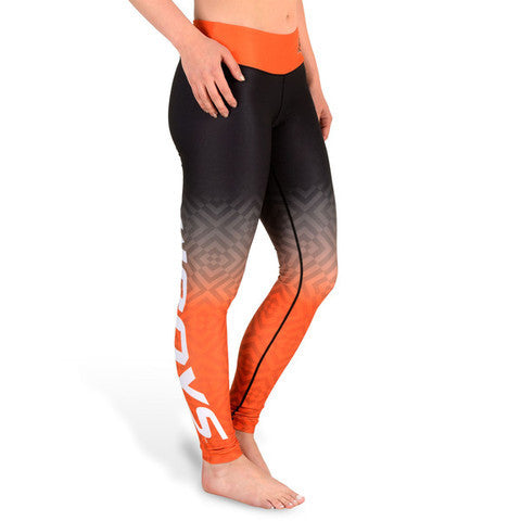 Oklahoma State Cowboys Womens Official NCAA Gradient Print Leggings
