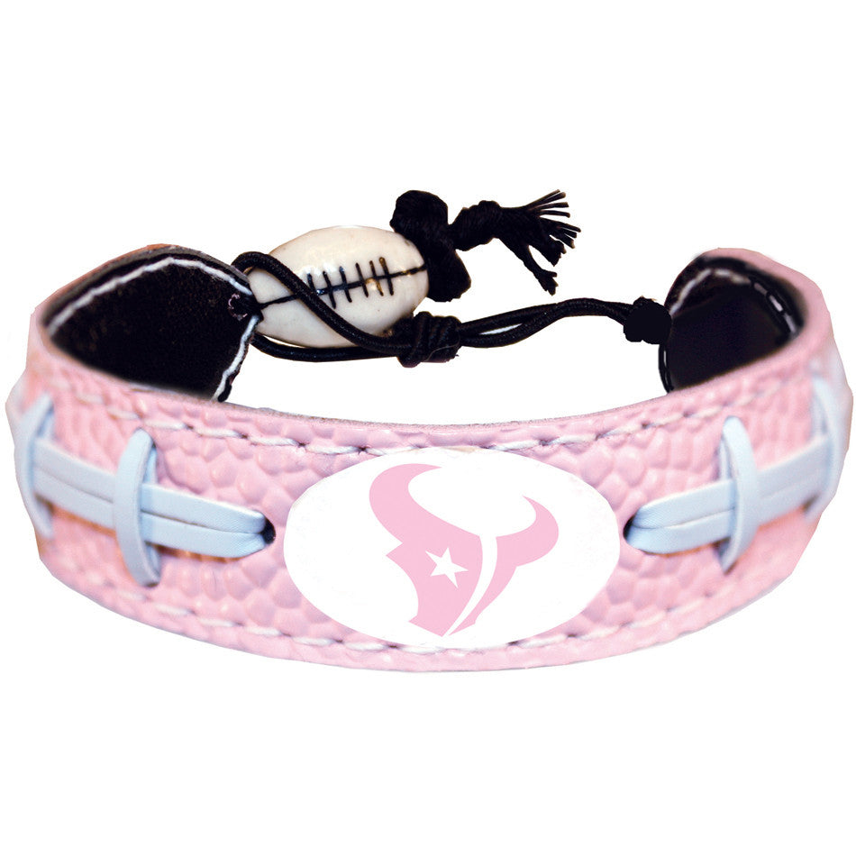 Houston Texans Official NFL Pink Bracelet