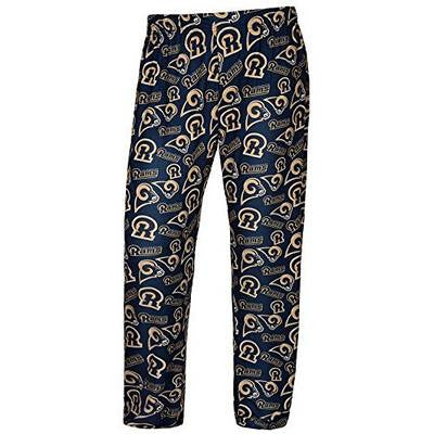 LOS ANGELES RAMS Official NFL Mens Polyester Print Pant