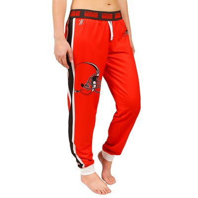 Cleveland Browns Official NFL Womens Jogger Pants