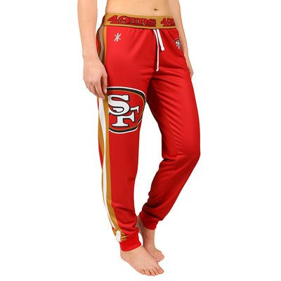 San Francisco 49Ers Official NFL Womens Jogger Pants