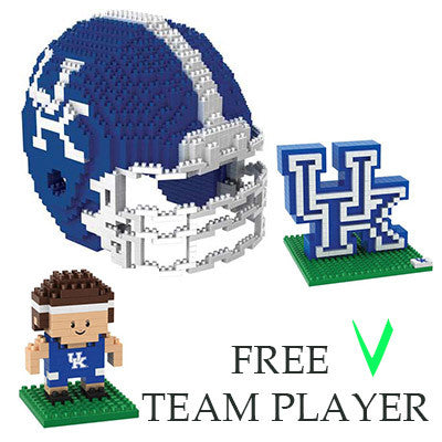 Kentucky Wildcats Official NCAA 3D BRXL Puzzle Pieces (PRE-ORDER EXPECTED TO SHIP JANUARY)