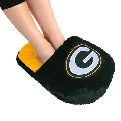 Green Bay Packers Official NFL Team Logo Plush Feetoes
