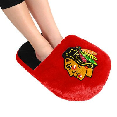 Chicago Blackhawks Official NHL Team Logo Plush Feetoes