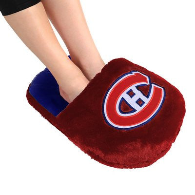 Montreal Canadiens Official NHL Team Logo Plush Feetoes