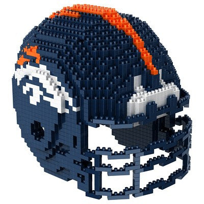Denver Broncos Official NFL 3d Helmet Brxlz Puzzle (PRE-ORDER EXPECTED TO SHIP EARLY DECEMBER)