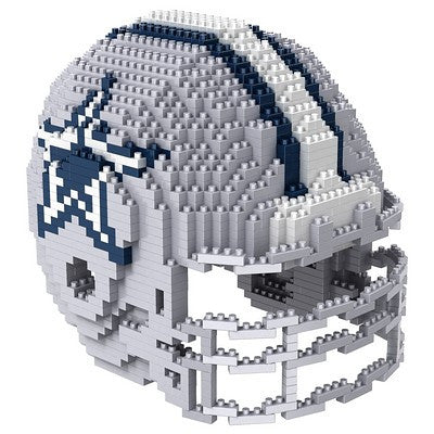 Dallas Cowboys Official NFL 3d Helmet Brxlz Puzzle (PRE-ORDER EXPECTED TO SHIP EARLY DECEMBER)