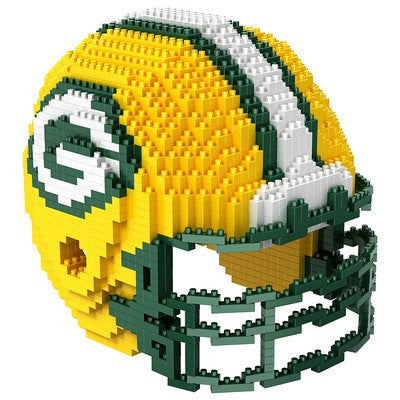 Green Bay Packers Official NFL 3d Helmet Brxlz Puzzle (PRE-ORDER EXPECTED TO SHIP EARLY DECEMBER)
