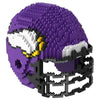 Minnesota Vikings Official NFL 3d Helmet Brxlz Puzzle (PRE-ORDER EXPECTED TO SHIP EARLY DECEMBER)
