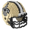 New Orleans Saints Official NFL 3d Helmet Brxlz Puzzle (PRE-ORDER EXPECTED TO SHIP EARLY DECEMBER)