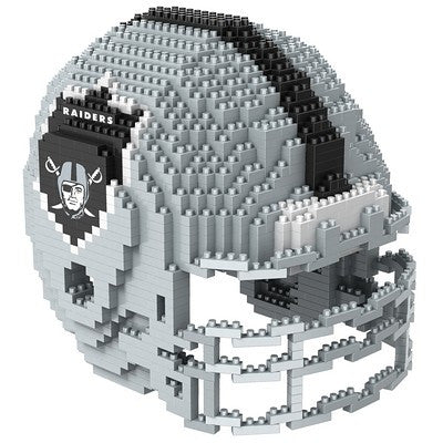 Oakland Raiders Official NFL 3d Helmet Brxlz Puzzle (PRE-ORDER EXPECTED TO SHIP EARLY DECEMBER)