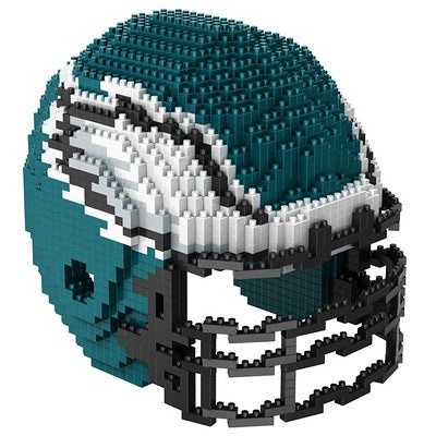 Philadelphia Eagles Official NFL 3d Helmet Brxlz Puzzle (PRE-ORDER EXPECTED TO SHIP EARLY DECEMBER)