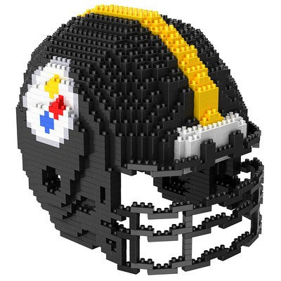 Pittsburgh Steelers Official NFL 3d Helmet Brxlz Puzzle (PRE-ORDER EXPECTED TO SHIP EARLY DECEMBER)