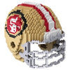 San Francisco 49Ers Official NFL 3d Helmet Brxlz Puzzle (PRE-ORDER EXPECTED TO SHIP EARLY DECEMBER)