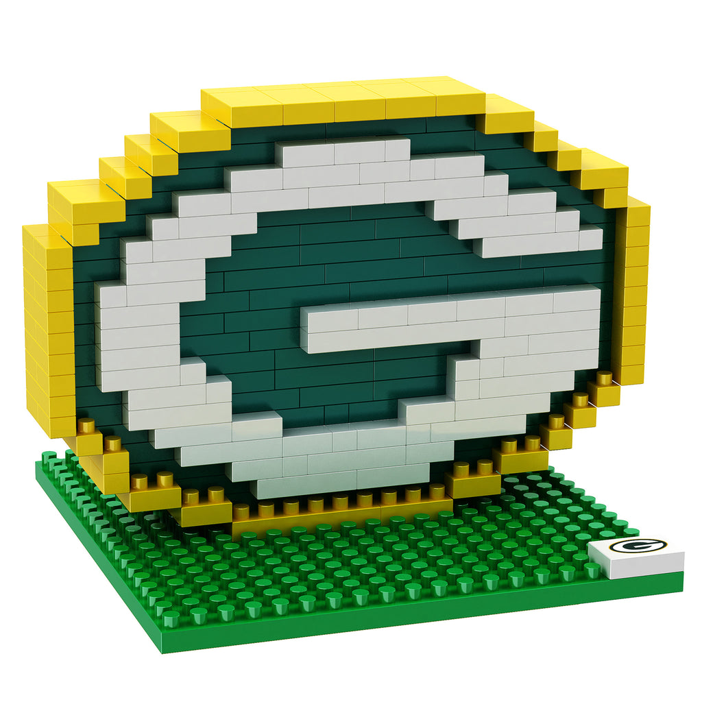 Green Bay Packers Official NFL 3D Puzzle Pieces