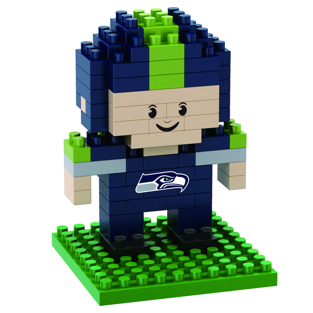 Seattle Seahawks Official NFL 3D Puzzle Pieces