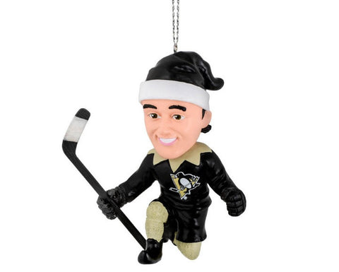 NHL Pittsburgh Penguins Crosby S. #87 Resin Player Elf Ornament
