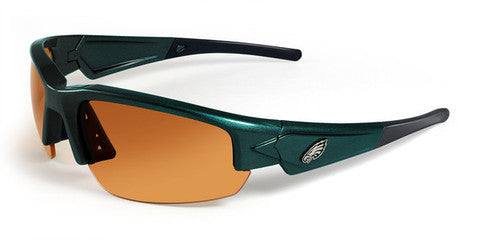 Philadelphia Eagles Men's NFL Sunglasses and Free Micro Fiber Matching Case