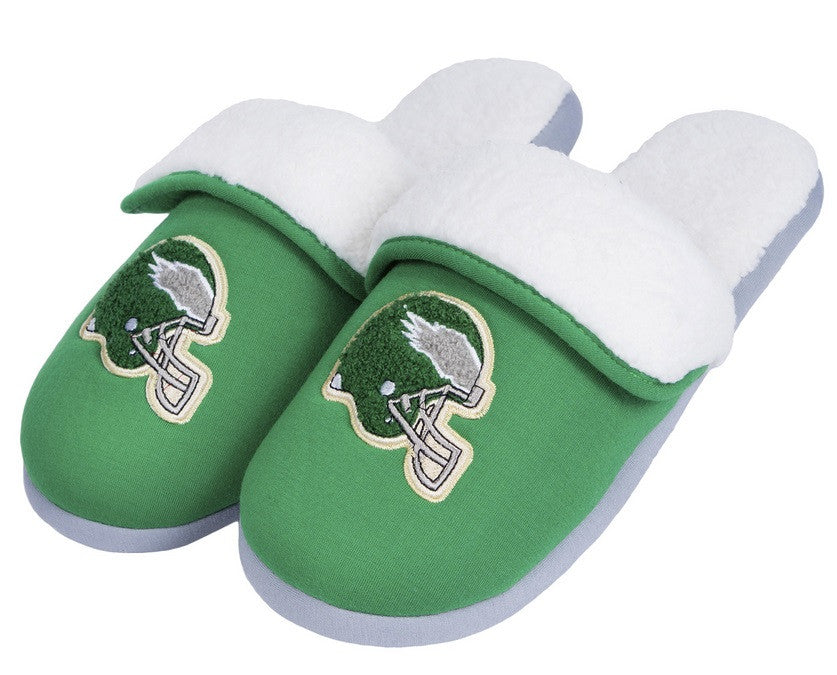 Philadelphia Eagles Official NFL Retro Slide Slipper