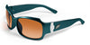 Philadelphia Eagles Women's NFL Sunglasses and Free Micro Fiber Matching Case