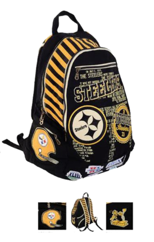 Pittsburgh Steelers Historic NFL Book Bag