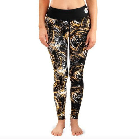 Pittsburgh Steelers Women's Official NFL Thematic Leggings