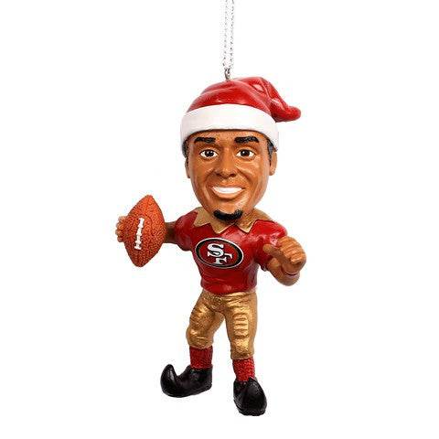 NFL San Francisco 49Ers Kaepernick C. #7 Resin Player Elf Ornament