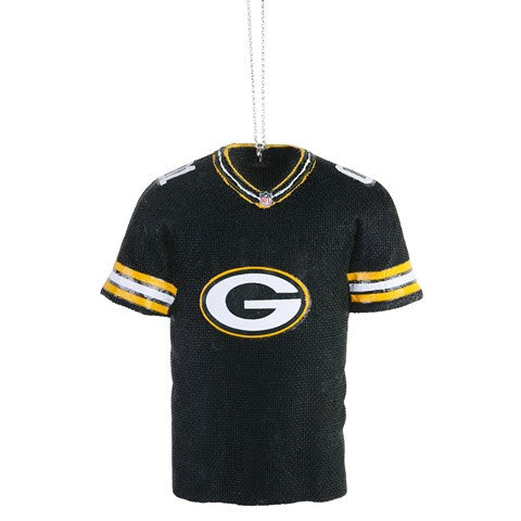 Green Bay Packers Official NFL Resin Jersey Ornament