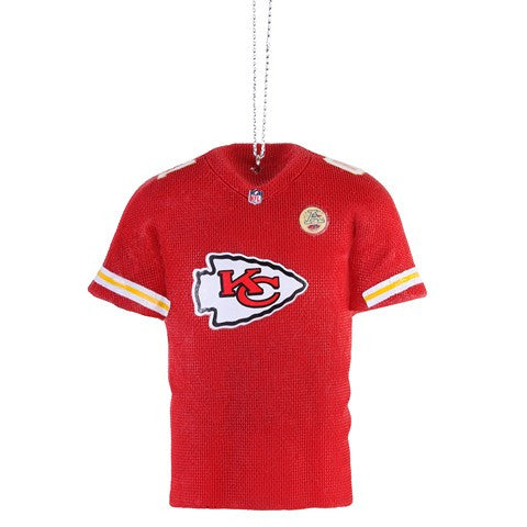 Kansas City Chiefs Official NFL Resin Jersey Ornament