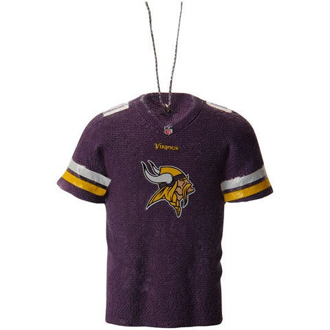 Minnesota Vikings Official NFL Resin Jersey Ornament