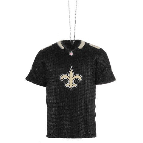 New Orleans Saints Official NFL Resin Jersey Ornament