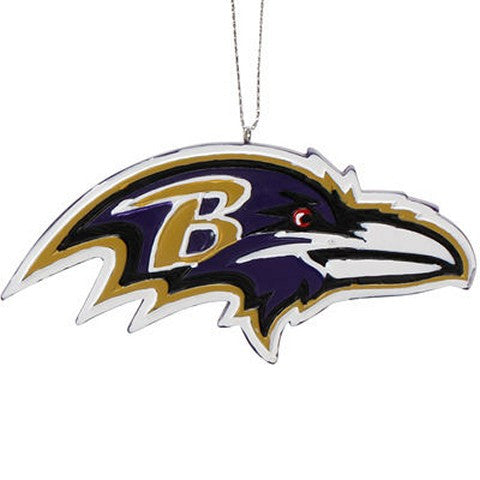 Baltimore Ravens Official NFL Resin Logo Ornament