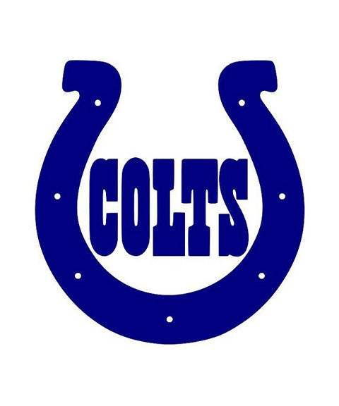 Indianapolis Colts Official NFL Resin Logo Ornament
