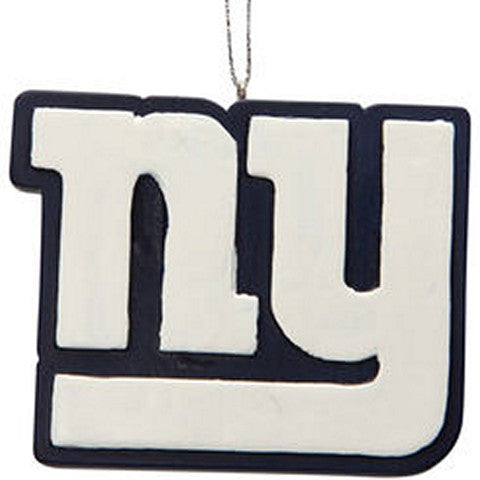 New York Giants Official NFL Resin Logo Ornament