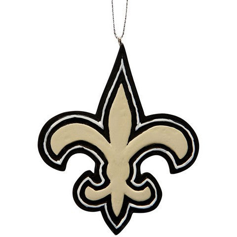 New Orleans Saints Official NFL Resin Logo Ornament