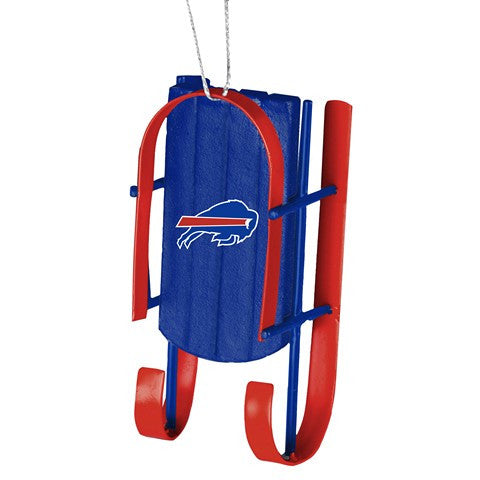 Buffalo Bills Official NFL Resin Sled Ornament